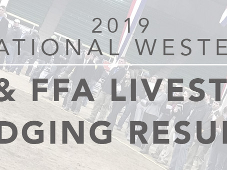 4-H and FFA Livestock Judging Winners at the National Western