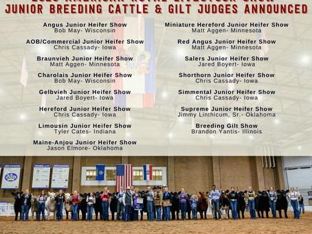 American Royal 2020 Judges