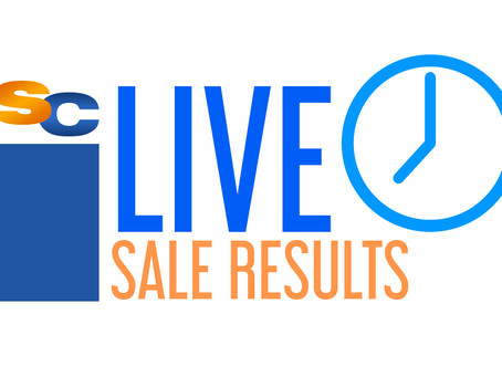 Live Sale Results