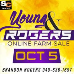Young & Rogers Farm Sale - TX
