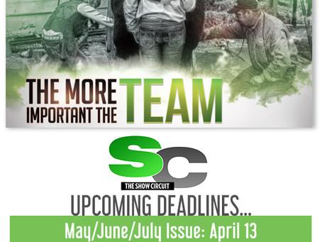 SC Upcoming Deadlines!