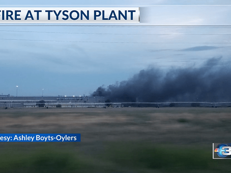 Packing plant fire disruptions fading, Part 1