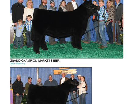 Show Results: NAILE, Hoosier Beef Congress, American Royal