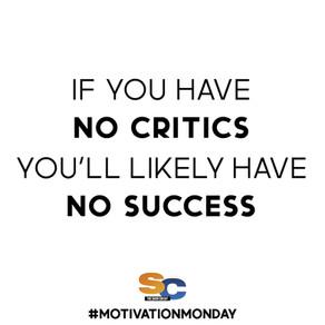 SUCCESS = CRITICS