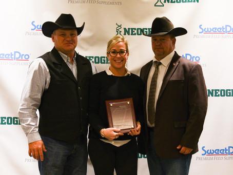 Dan & Kate Warner Named Gelbvieh Association Breeder Of The Year