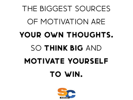 Think Big ➡️ Motivate Yourself ➡️ WIN