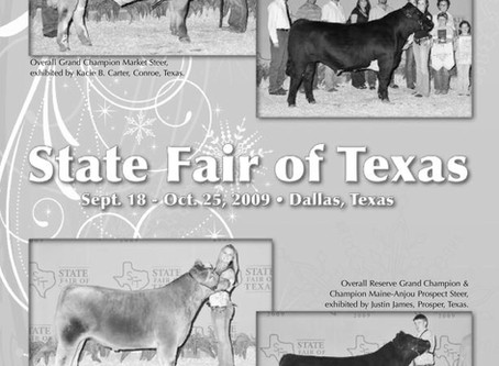 Flashback Friday - 10 Years Ago at the State Fair of Texas