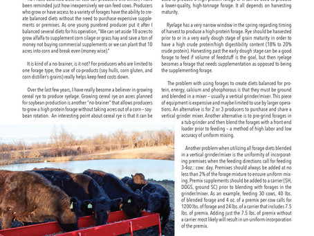 Low Costs Diets for Beef Cows