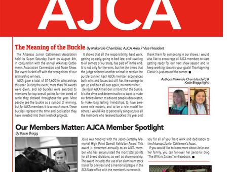 Arkansas Junior Cattlemen's Association News - September/October 2018