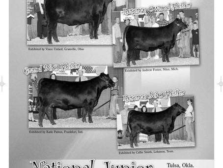 Where Were You the Summer of 2007? These Folks Were at the National Junior Angus Show