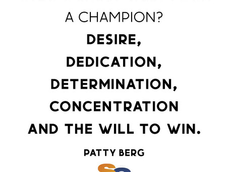 THE MAKINGS OF A CHAMPION