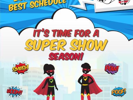 Ohio Best Show Schedule