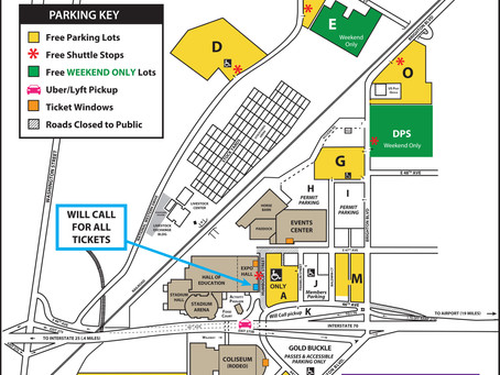 FREE Overflow Parking Available for National Western Stock Show Guests