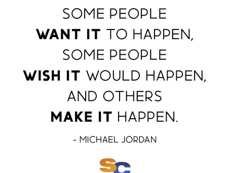 BE THE ONE WHO MAKES IT HAPPEN 💪