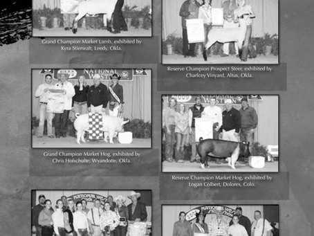 What Swine and Sheep Exhibitors Took Home Banners from NWSS 10 Years Ago? Champion Judging Teams?