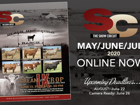 MAY/JUNE/JULY ISSUE ONLINE!