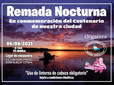 Remada Conmemoración Aniversario Centenario de Río Grande