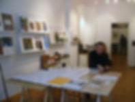 AKG Berlin - Wolfgang Buchta - Ausstellungsvorbereitung