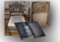 Krause-Presse, Litho-Stein, gedrucktes Buch