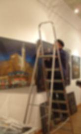 AKG Berlin - Ausstellungsvorbereitung   g
