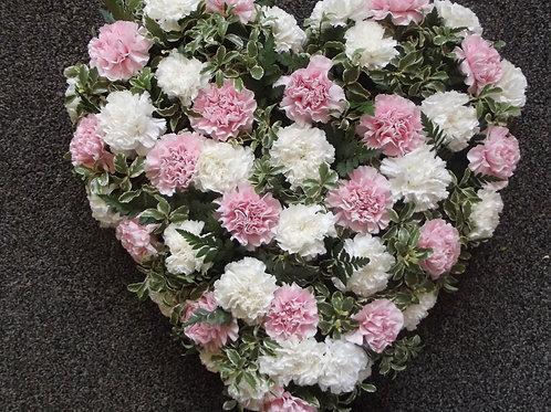 Carnation Love Heart