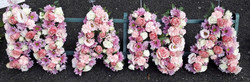 Nana funeral flower letters