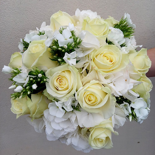 Royal White Roses