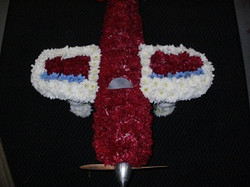 spitfire plane funeral tribute