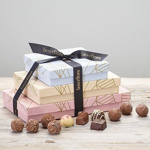 Trio Of Belgium Chocolates