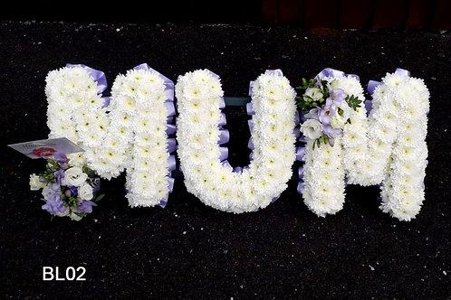 MUM Base Letters