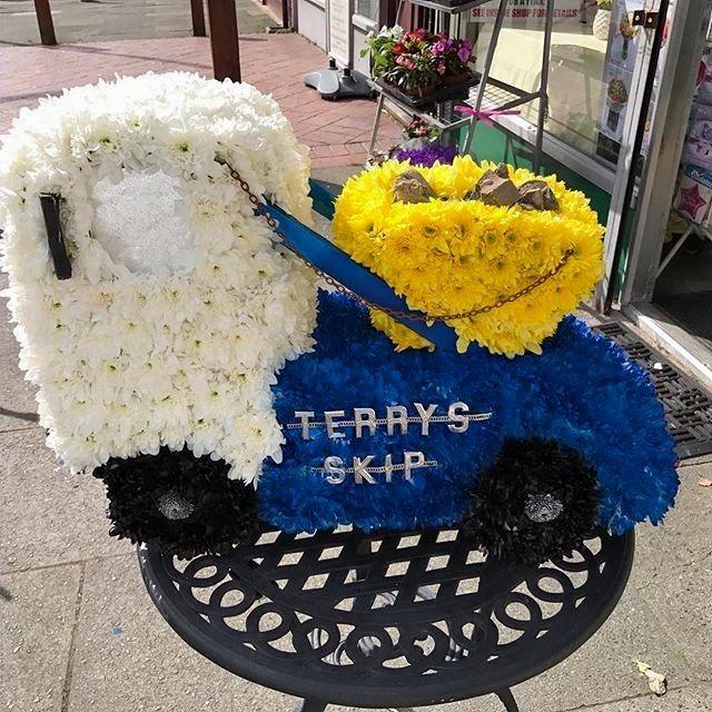 truck skip funeral tribute