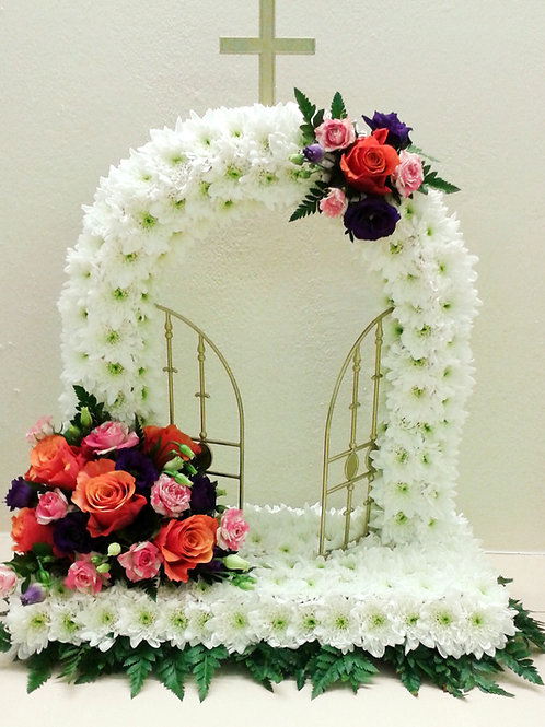Vibrant Gates Of Heaven