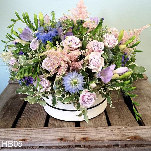 Kent Garden Hatbox Bouquet