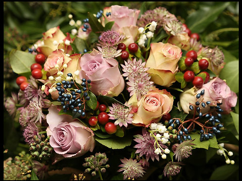 Winter Berries Bouquet