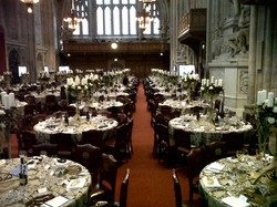 guilds Hall London Wedding candelabra ce