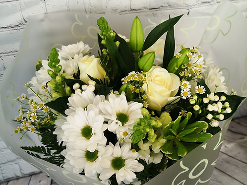 White Roses and Lilie's