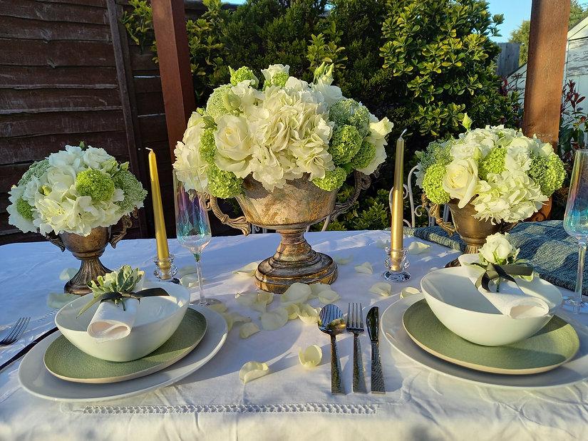 Garden Party Fresh Flower, centrepiece,