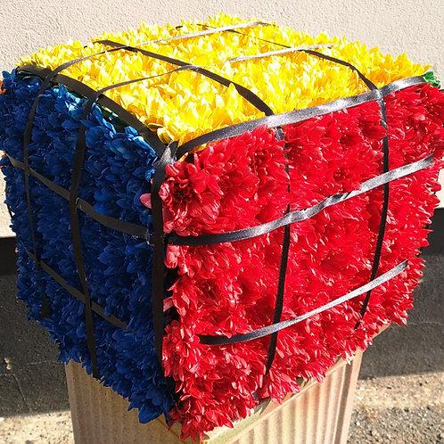 Rubik's Cube Funeral Tribute