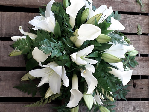 Calla Lily and Lilies Posy