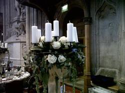 guilds Hall London Dinner candelabra cen