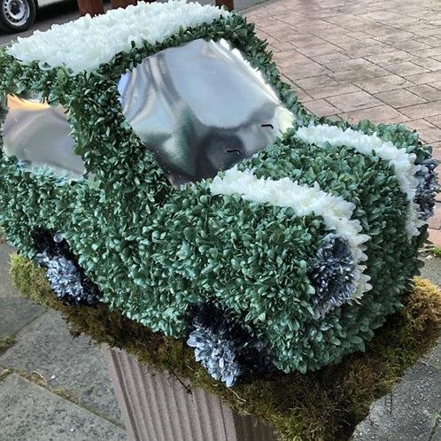 Car Funeral Tribute