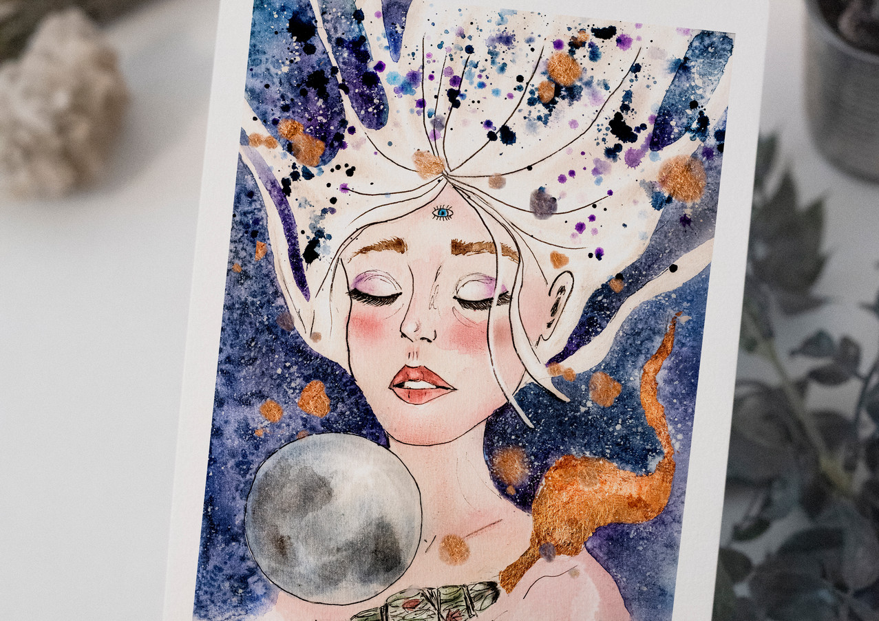 Intuition's Beauty - Luna
