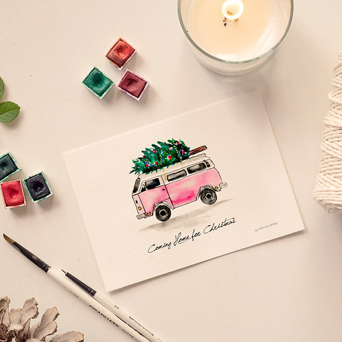 Van Christmas Card - Limited Edt