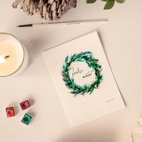 Feliz Natal Christmas Card - Limited Edt