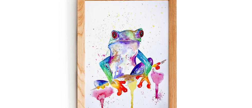 Kiss a frog
