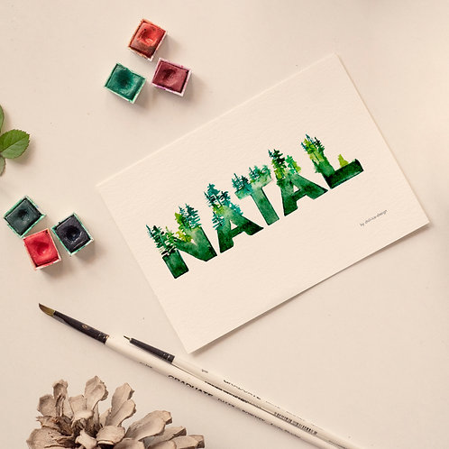 Natal Christmas Card - Limited Edt