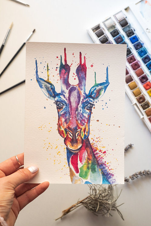 Giraffing