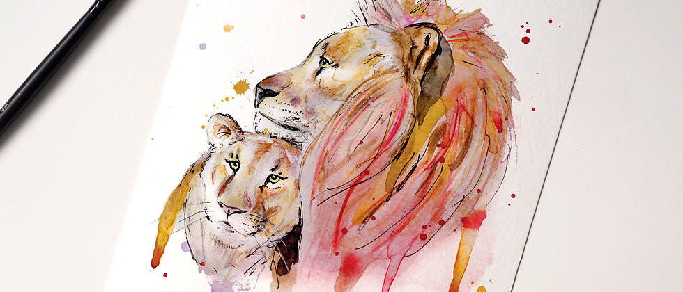 in Love Lions