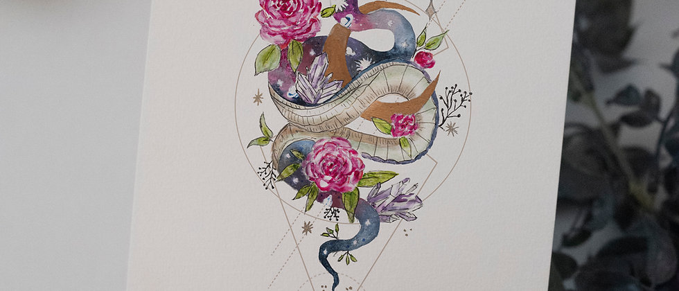 serpent of rebirth and fertility