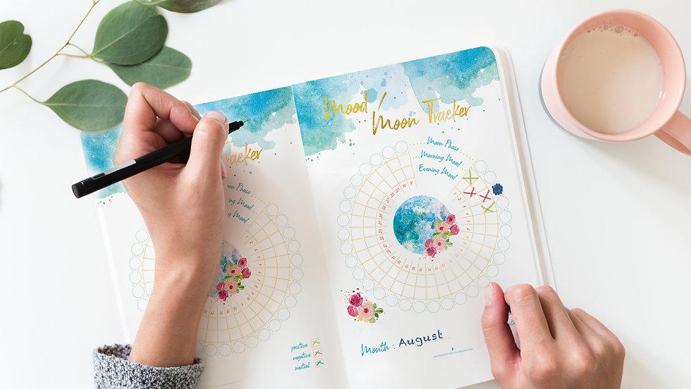 Lunar & Menstrual Journals